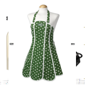 Aprons, oven gloves, Chefs hats and cloths.