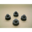 Magimix Feet Set of 4 Black for Le Duo & Food Processors