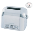 Magimix Toaster 2 Slice-Satin Middle Panel Satin Ends 11516