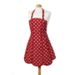 C`est a! Belle Apron - Red Shaped Panels - 100% Cotton