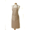 C`est �a! Butcher Stripe Apron Taupe - 100% Cotton 822060