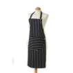 C`est �a! Butcher Stripe Apron Navy - 100% Cotton 822035