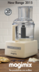 Magimix Food Processor Models Information Leaflet