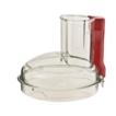 Magimix 4200XL & 5200XL Clear Lid - Red Handle