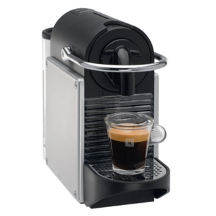 magimix nespresso pixie m110 aluminium coffee maker 11322. Black Bedroom Furniture Sets. Home Design Ideas