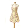 Katie Apron - Lemon Design Panels 100% Cotton Made in UK