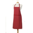 Belle Apron - Red Classic 100% Cotton, Made in UK