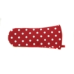 Belle Oven Gauntlet Red Belle Design 100% Cotton, Made in UK