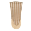 British Textiles Co. Striped Oven Gauntlet Taupe 822062