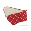 Belle Double Oven Glove Red Oven Gloves, Made in UK
