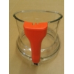 Magimix 5200xl Clear Lid Top Orange Handle for 18536