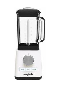 Magimix Blender White 11612 1.8 ltr Glass jar, 1200w motor