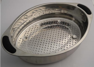 Magimix Steamer Shiny Tray In Chrome Stainless Steel 504993