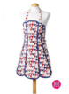Flotilla Apron Bunting Design 100% Cotton, Made in the UK