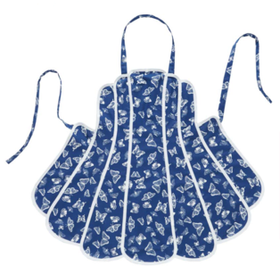 Freya Apron Butterfly Design 100% Cotton Made in UK