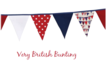 Flotilla Cotton Bunting 5 mtrs Ideal for the Summer BBQ
