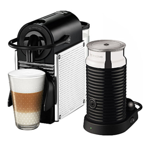 magimix nespresso pixie chrome aeroccino milk frother m110 magimix spares. Black Bedroom Furniture Sets. Home Design Ideas