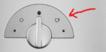 Magimix L'expresso 11401 11411 Chrome Dial Face