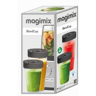 Magimix BlendCup Bottles for Blender, Smoothies & Shakes