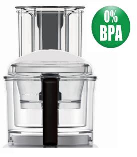 Magimix 4200xl Complete Bowl Kit. BPA Free, Black Handles