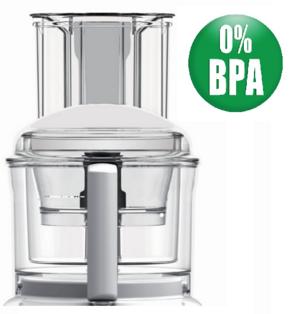 Magimix 3200xl Complete Bowl Kit. BPA Free, White Handles