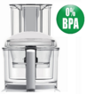 Magimix 5200xl Complete Bowl Kit. BPA Free, White Handles