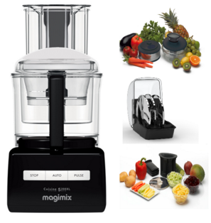 magimix 5200xl black juicing dicing extra disc kits. Black Bedroom Furniture Sets. Home Design Ideas