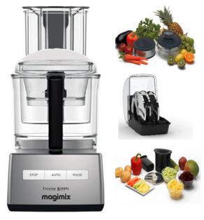 Magimix 5200xl Cuisine Systeme Satin Premium Food Processor
