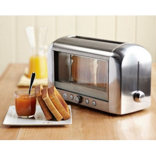 magimix vision toaster quartz see through toaster 11526. Black Bedroom Furniture Sets. Home Design Ideas