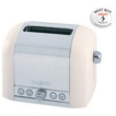 Magimix Toaster 2 Slice Cream Side & Polished Middle 11501
