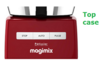 Magimix Le Patissier Red Motor Support - Top Case