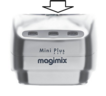 Magimix Le Mini Plus Motor Support (Top Case) - Satin