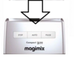 Magimix 3200 Top Case Chrome 18320 18327 Clearance