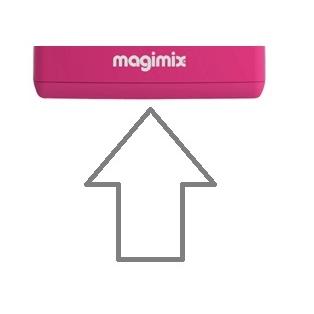 Magimix Base - Raspberry Pink 5200xl 18524