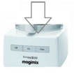 Magimix 5200 Top Case White 18500 & 18526 (105555)
