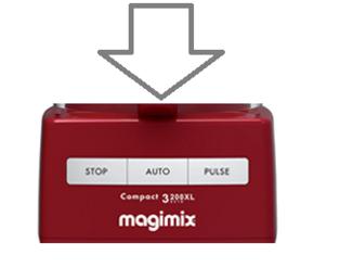Magimix 3200xl Top Case Red 18364