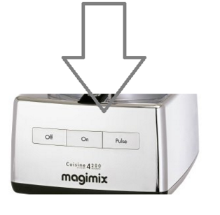 Magimix 4200 Top Case Chrome 18427 18420 Clearance