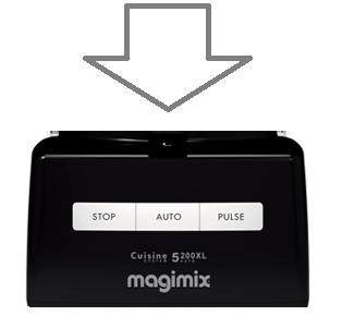 Magimix 5200xl Top Case Black 18501 18562 18584