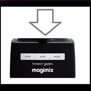 Magimix 3200xl Top Case Black 18363 - 107766