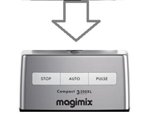 Magimix 3200xl Top Case Satin 18361 - 107778