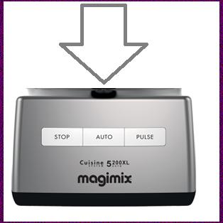Magimix 5200xl Top Case Satin 18710 18534 18570