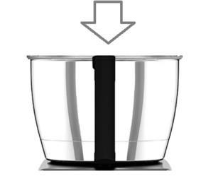 Magimix Patissier 6200xl Metal Bowl for Dough, Egg Whisking