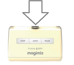 Magimix 5200xl Top Case Ivory or Cream 18535 18583