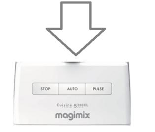 Magimix 5200xl Top Case White 18531 18590 18700