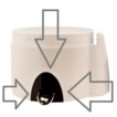 Magimix Le Duo XL Spout Only for XL 14250 14251 14252