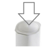 Magimix  Blade Cap White for Main Blades and Dough Blades