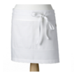 White - Front of House Apron Service Apron Made in UK