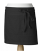 Black - Front of House Apron Service Apron Made in UK