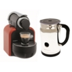 Magimix M100 Coffee Maker & Aeroccino Auto Glam Red *NEW