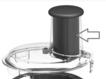 Magimix Pusher Spiral Expert 4200 4200 XL 5200 5200 XL